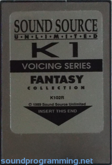 Kawai K1 Fantasy Collection from Sound Source Unlimited