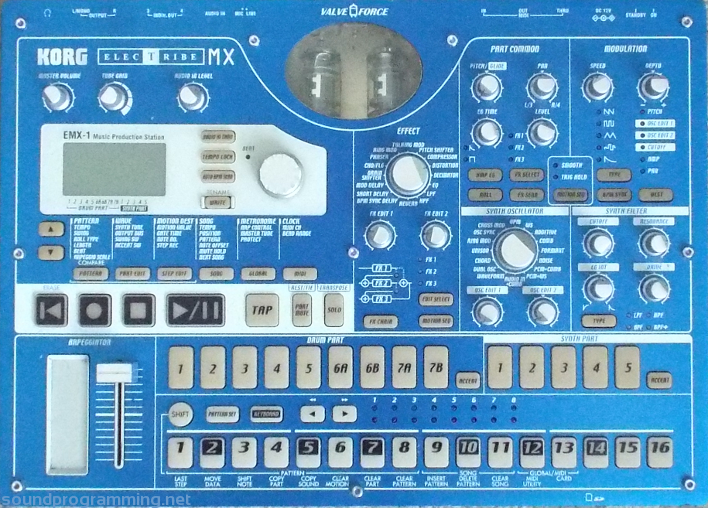 Korg Electribe Emx 1 Sound Programming