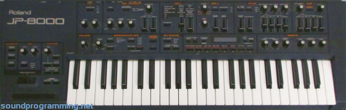 Roland jp8000 youtube.