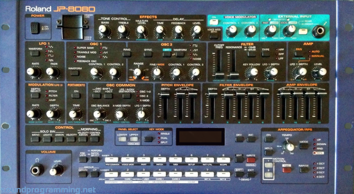 Roland jp8000 & boss rv6 reverb youtube.