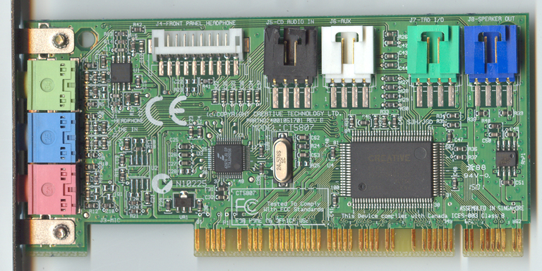 Creative Labs Sound Blaster 16 CT5807