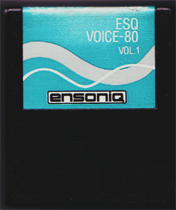 Ensoniq ESQ-1 Voice80 Vol. 1