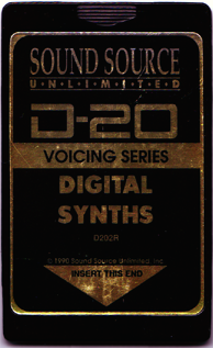 Sound Source Unlimited Digital Synths Expansion Card