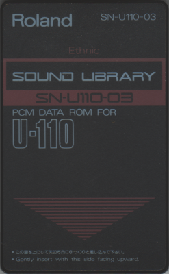 Roland SN-U110-03 Expansion Card