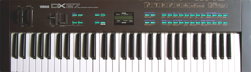 Yamaha DX27 Picture