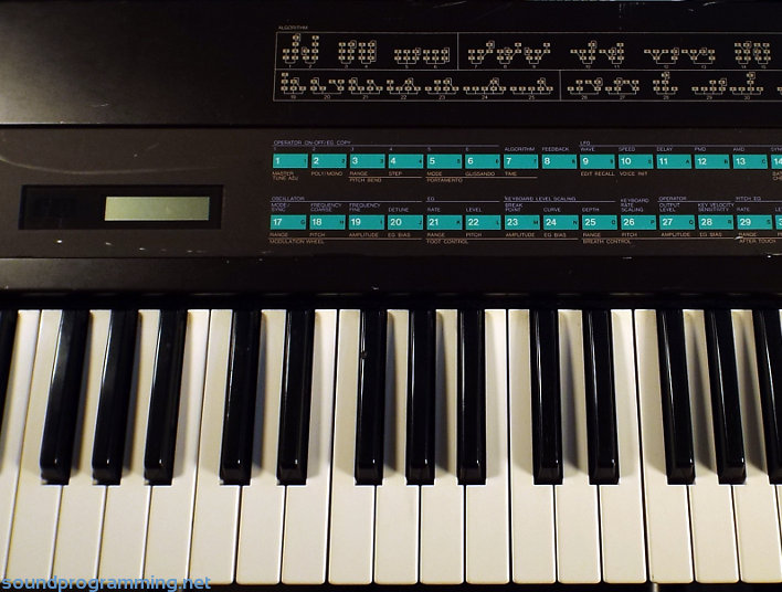 Yamaha DX7 Center
