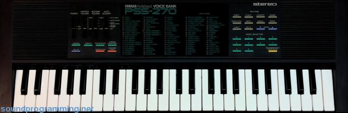 yamaha pss 270 sound programming rh soundprogramming net yamaha psr 270 manual pdf yamaha pss 270 service manual